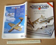Paper Planes Book #2 Press-Out Card Planes That Fly x 8. Zero,B52 B2 U2 BF109E.