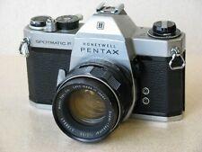 Pentax Spotmatic F w/55mm lens