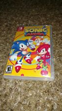 Sonic Mania Nintendo Switch Custom Case with Sleeve Cover Art (No game included)