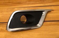 LINCOLN MKZ 10 11 12 LH DRIVER FOG LIGHT BEZEL TRIM COVER CHROME OEM NICE