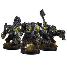 Ork War2 Plattenrüstungs Orks Armoured Orc Assault Squad (10) Kromlech
