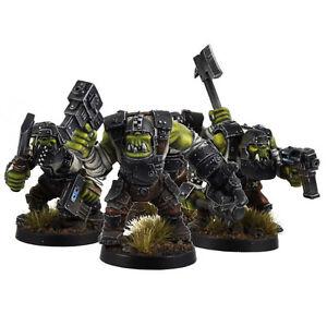 Ork War2 Plate Armour Orcs Armoured Orc Assault Squad (10) Kromlech KRM027