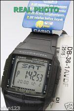 DB-36-1A Genuine Original Casio Watch Black 5 Multi-Fuction