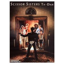 SCISSOR SISTERS poster - TA-DAH - promo poster - 11 x 17 inches