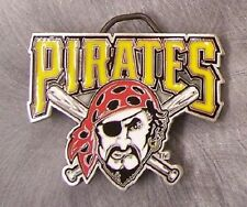 MLB Pewter Belt Buckle Pittsburgh Pirates NEW