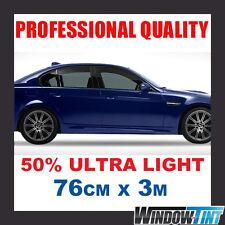 50% ULTRA LIGHT PRO CAR WINDOW TINT ROLL 76CMx3M