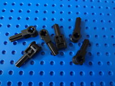 LEGO Black Technic Pole Reverser Handle 8466 8435 8479 10196 10017 Lot/6