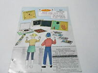 VINTAGE CATALOG #2411 - 1960s BAR-ZIM TOYS - DR DOLITTLE