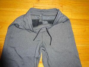 "Lululemon Men's Kung Fu Heather Gray Pants Sweatpants Size M inseam 35"""