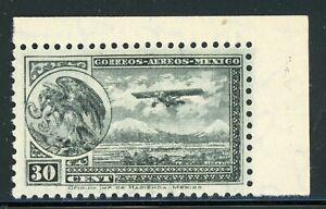 MEXICO MNH Air Post Selections: Scott #C75 30c Slate WMK248 PERF 10½ x 10 CV$3+