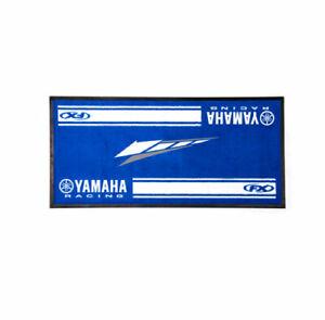 YAMAHA RACING DOOR MAT Blue  VFE-20MAT-DR-BL