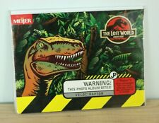 Jurassic Park 1997 The Lost World Velociraptor Photo Album Meijer Kodak Vtg RARE