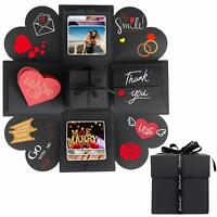 Surprise Explosion Box DIY Photo Album Craft Memory Scrapbook Anniversary Gift