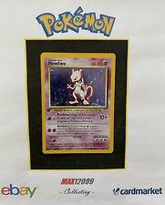 Pokemon MEWTWO Holo SET BASE Prima Edizione 10/102 ITA / PL