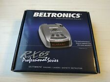 New listing Beltronics rx65 Usa version red radar detector, Intl for Ka-Band, Used