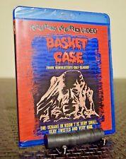 Basket Case Blu-ray, Something Weird, Henenlotter, Grindhouse, New/sealed