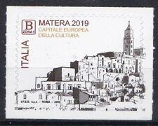 Italia 2019 Matera capitale europea della cultura 2019   Mnh