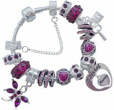 Silver Plated Unbranded Charm Bracelets