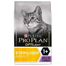 PRO PLAN Opti-Light Dry Cat Food Turkey | Cats