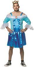 HOMMES SEXY BLEU PRINCESSE Brame NUIT Fête Festival Costume déguisement