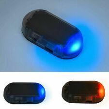 New Car Solar Energy Alarm Dummy Security System Anti-theft Warning Flash Lights