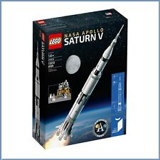 LEGO Ideas 21309 NASA Apollo Saturn V Rocket - Brand New Sealed - Ships in Box