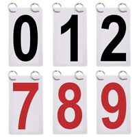 KQ_ 0-9 Score Number School Sports Competition Digit Scoreboard Replacement Card