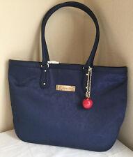 Disney Exclusive Snow White Apple Shopper Bag Blue Kingdom Couture Collection