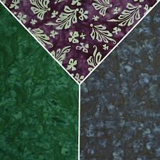 """100% 45"""" SHADED COTTON BATIK DYED PRINTED DESIGN FABRIC CRAFTING QUILTING D#101"""