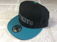 New Era 59Fifty Seattle Mariners Black Teal 7 1/2 AIR GRIFFEY MAX 1