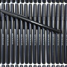 Misprint Pens 100 pc Ball Point Ink Wholesale Lot Bic Round Stic Style Black Cap