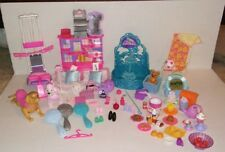 Lot Barbie Accessories Food Work Out Gym Center Shoes Dogs Purses Etc
