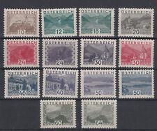 Österreich Nr. 530-543, **, 538 mit Entfalzungsspur