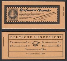 Federale markenheftchen 4 y II RLV i ** Heuss e paragrafo 1960 post freschi aufklappbug