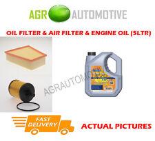 DIESEL OIL AIR FILTER KIT + LL 5W30 OIL FOR SKODA FABIA 1.9 131 BHP 2003-07