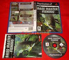 BASS MASTER FISHING Ps2 Versione Italiana 1ª Edizione ○ COMPLETO - A2