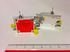 RF Wideband Amplifier (0.2-8GHz), High Gain, High P1.