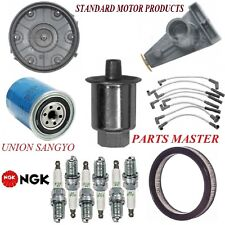 Tune Up Kit Filters Cap Spark Plugs Wire For FORD F-150 L6 4.9L;1 bbl 1982-1986