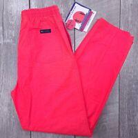 Vintage Columbia Koccomo Pants Womens Large Pink Bonefish Flats Windbreaker J162