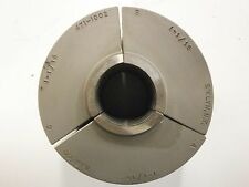 "Nardco #5 Warner Swasey 1-1/16"" Round Serrated Collet Pad Jaws USA 471-1002 CP08"