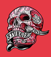 2015 STURGIS RALLY 75th Anniversary SUGAR BANNER BIKER PATCH