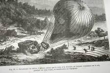 GRANDES INVENTIONS DES TEMPS MODERNES-FOCILLON-1885-CHEMIN DE FER TELEGRAPHE-ILL