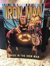 IRON MAN: MASK IN THE IRON MAN Comic Book (2001 Series) First Printing