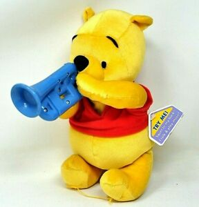 MAKIN MELODIES POOH  Disney Fisher Price Plays 5 Songs & Talks 2002 w/tags