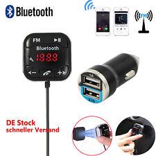 Bluetooth FM Transmitter Auto KFZ SD Musik MP3 Player USB AUX  Freisprechanlage