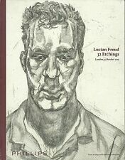PHILLIPS LONDON LUCIAN FREUD 32 Etchings Important American Coll Auction Catalog