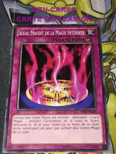 OCCASION Carte Yu Gi Oh SCEAU MAUDIT DE LA MAGIE INTERDITE AP06-FR028