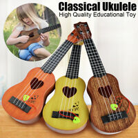 Beginner Classic Ukulele Guitar Educational Musical Instrument Toy for Kid Child