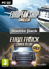 European Ship Simulator and Euro Truck Gold (PC DVD) (UK IMPORT)