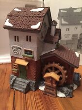 Heritage Village Collection Alpine Village Series STODER GRIST MILL #59536